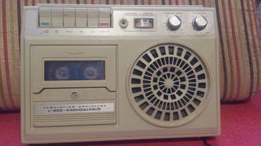 Bakı şəhərində Elektronika 302 rus istehsali olan maqnitofon tam islek veziyyetdedir