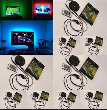 Tv led - Srbija: RGB 5050 LED traka za TV 2MRF daljinski Cena 1100 dinTip: LED TV