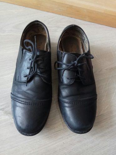 женские туфли кожа в Кыргызстан: Туфли на мальчика б.у, кожа, размер 37