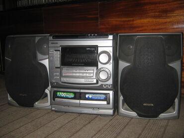 музыкальный центр в Кыргызстан: Музыкальный центр AIWA NSX-S505. Радио диапазон FM проверил, работает