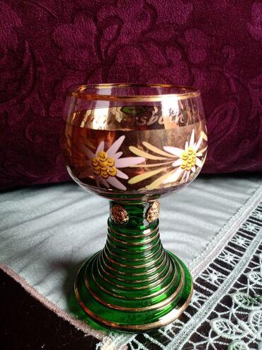 Casa za vino za slave i sl. rucno oslikana,pozlata. iz