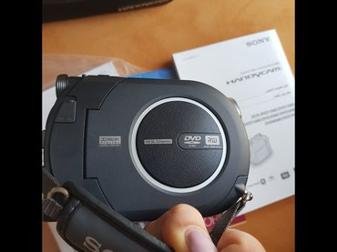 Bakı şəhərində Sony handycam video kamerasi. Ela veziyyetdedir. 1 -2 defe istifade
