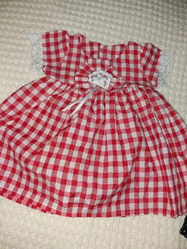 Dečija odeća i obuća - Zitorađa: Crna haljinica nova, crvena nova samo oprana nije nosena. Zuta obucena