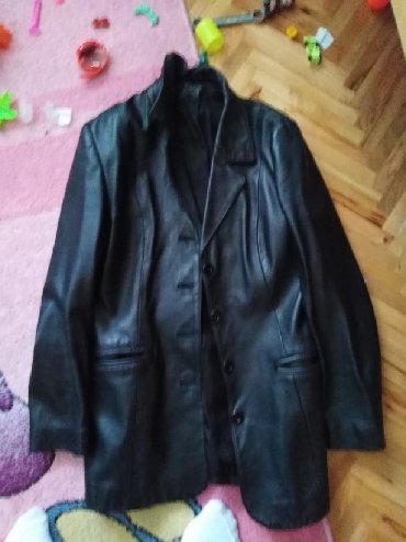 Ostalo | Valjevo: Zenska sako jakna obucena par puta kozna vel 40 mozda se malo losije