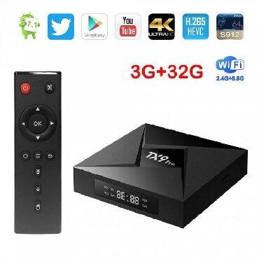 Maxi blue - Srbija: Android smart tv boks - TX9 Pro - S912 Amlogic čipset - 8 jezgara