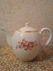 Çaydanlar - Azərbaycan: Dəm çaydanı. Keçmişindir, qapağında qopuq var