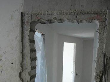 Бетонные работы - Кыргызстан: Сносим стены Кирпичные, Бетонные, Саманные также. Все виды