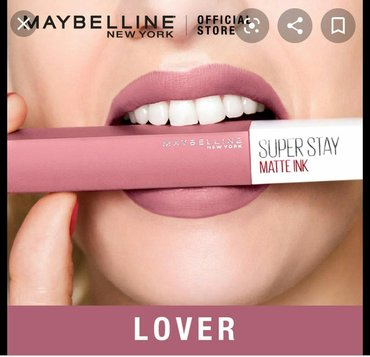 Maybelline super stay matte ink 15 lover AMERIKA istehsali Dodag 16