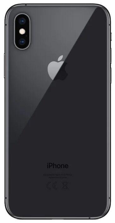 Электроника - Кызыл-Адыр: IPhone Xs   64 ГБ   Черный Б/У