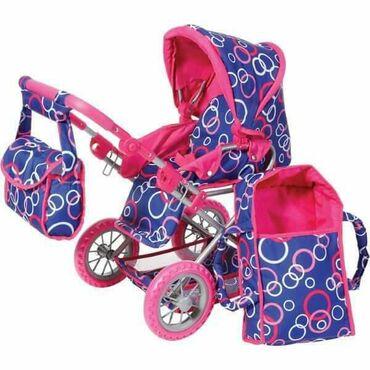 Kolica za lutke - Srbija: Kolica za lutke Knorr Ruby su metalna kolica sa nosiljkom za