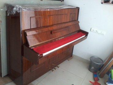 Gəncə şəhərində Gəncədə Belarus Uc pedall Piano Satilir catdirilma ilə