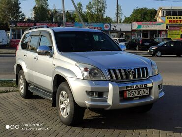 lexus 150 в Кыргызстан: Toyota Land Cruiser Prado 3 л. 2007   186000 км
