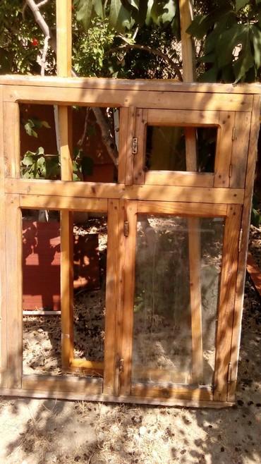 Xırdalan şəhərində Pencere eni 1 m 7 s.hundurluyu 1m 40 s.susesi yohdu.