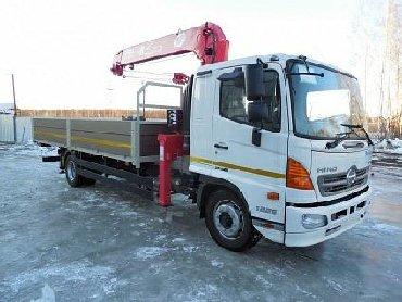 транспортные услуги крана манипулятора в Кыргызстан: Манипулятор | Стрела 10 м. 5 т | Борт 6000 кг