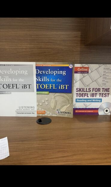 Новый collins skills for the toefl i̇bt listening + reading and