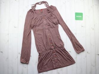 Женское платье с пуговицами спереди,р.S Длина: 75 см Пог: 34 см Пот: 3
