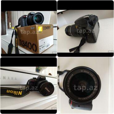 Fotoaparat Nikon Dmm f/3.5-5.6G VR.Çox az istifade edilib Çanta ve