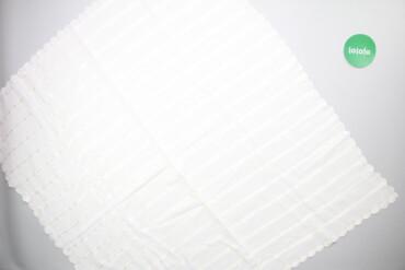 Тканина білого кольору     Розмір: 101 см х 94 см  Стан гарний