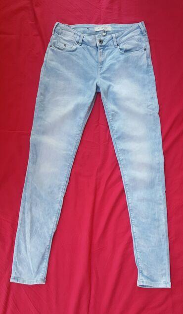 Esmara-skinny-struk-cm - Srbija: Skinny jeans, vel. S (36) plici struk. Označena veličina je W28 L32