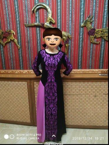 зеленое платье большого размера в Кыргызстан: Ручная работа, индивидуальный пошив (фасон как платьи от Обозовой)