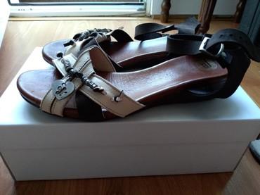 Ženska obuća | Prijepolje: Sandale dambeti. Prirodna koza. Preudobne. Obuvene bukvalno dva puta