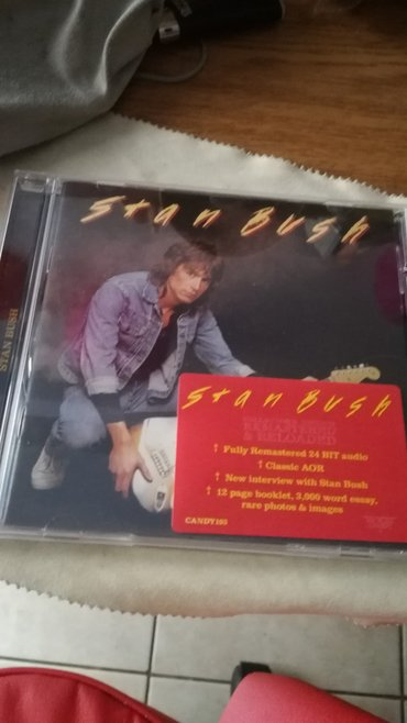 Stan Bush S/T CD. Rock Candy Remastered. σε Piraeus