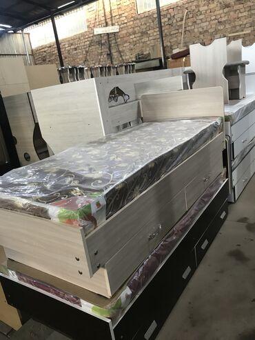 Односпальнные кровати .размер1.90 80 новые в наличии и заказ
