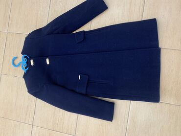 Пальто: Размер:40-42 Цвет:Синий Производство:Турция  Пол:Женский