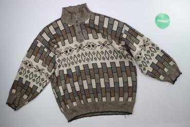 Чоловічий светр у візерунок Sabir р. L    Довжина: 62 см Ширина плечей