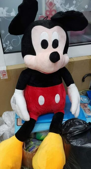 MIKI ( Mickey) MAUS - Ogromna plisana igracka - 80cm - NOVODimenzije