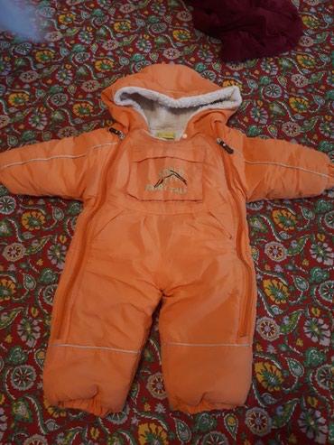 Комбенизон очень теплый , на ребенка 6-12 месяца, состояние хорошее. в Бишкек