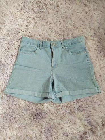 шорты джинсовые в Кыргызстан: Джинсовые шорты на высокой посадке