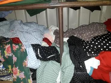 ткань плюш в Кыргызстан: Остатки ткань сатып алам