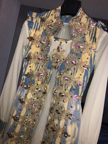 Красивый наряд тройка на никах и келин салом размер 42, был одет