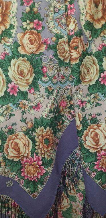 Новый Павлопасадкий платок размер 125 -125