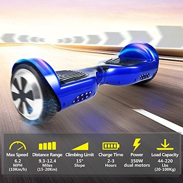 Bakı şəhərində Гироскутер Smart Balance Wheel +Bluetooth+Колонка+Чехол !