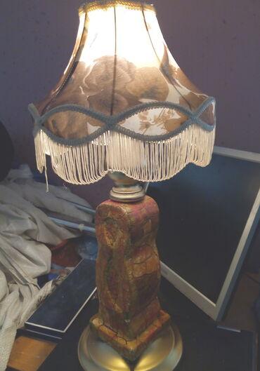 Rasveta   Kraljevo: Stara lampa   ispravna,visina 55 cm