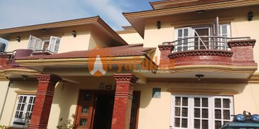a beautiful and strong bungalow house having land area 0-8-0-0 of 2.5 in Kathmandu