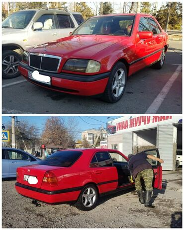 Mercedes-Benz C 180 1.8 л. 1994 | 388765 км