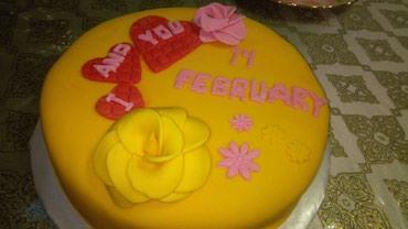 Keytrinq Xırdalanda: Sevgililer gunune ozel tort