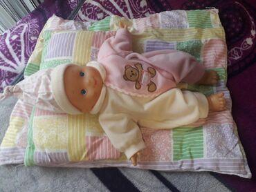 Bebi posteljina - Srbija: Beba sa posteljinom placena 1200 kao nova