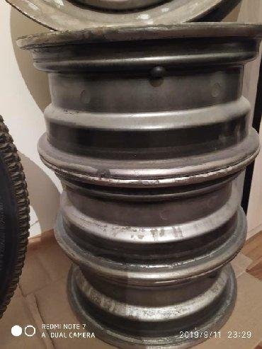 шницер-диски в Кыргызстан: Диски размер 14 разболтовка 5*100 количество 4шт. в отличном