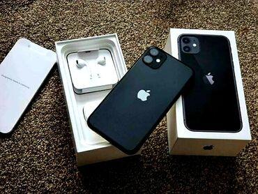 купить бу iphone 11 pro в Кыргызстан: IPhone 11 128 ГБ Черный