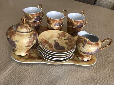 Другие товары для кухни - Кыргызстан: Эксклюзивный чайный набор!  Новый неиспользованный!