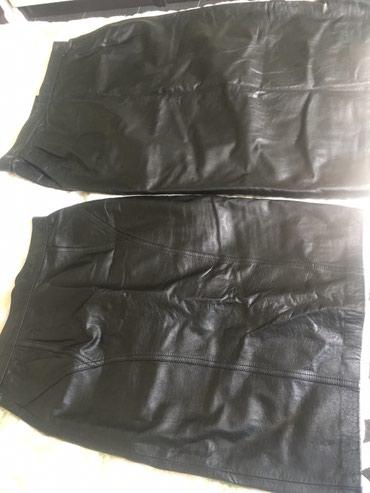 Кожанные юбки 46 и 48 размеры новые в Бишкек