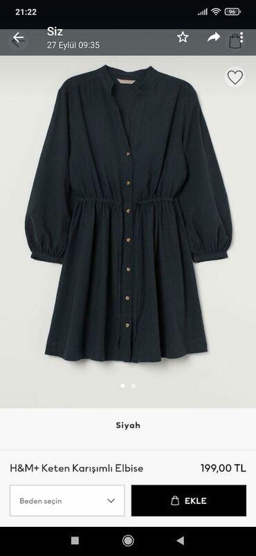 3460 elan | ŞƏXSI ƏŞYALAR: H&M dress new 3xl