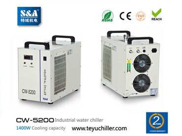 S&A CW-5200 water cooled chiller for cooling UVLED exposure in Kathmandu