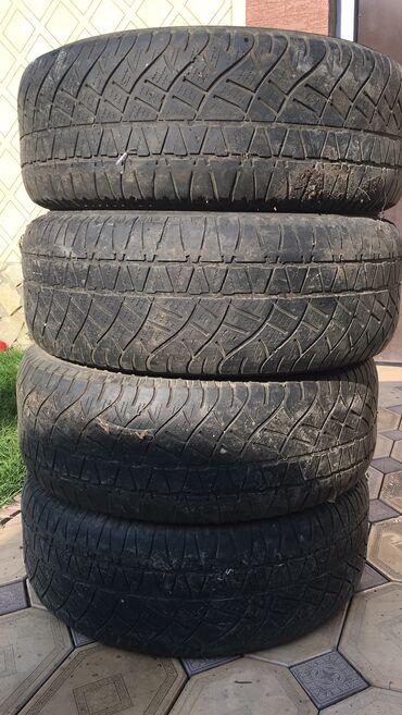 диски 18 в Кыргызстан: Продаю комплект зимней резины Michelin. 265/60/ 18. Состояние среднее