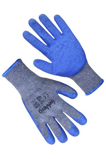 Перчатки трикотажные с рифленным покрытием