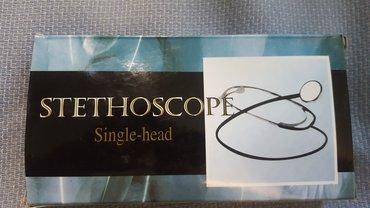 Stetoskop - Beograd: Stetoskop ili slušalice u zdravstvu nove. Cena je 990 dinara